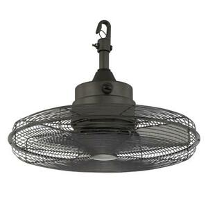 Home Decorators Collection Calthorpe 20 in. Portable Natural Iron Ceiling Fan