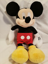 "Mickey Mouse 18"" Stuffed Animal Toy Plush Authentic Disney Store Original"