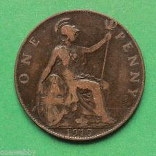 1910 Edward VII Penny SNo42165