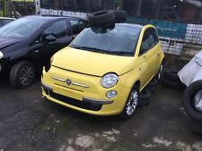 FIAT 500 LOUNGE 2009 IN YELLOW LOW MILAGE BREAKING FOR PARTS 07779 367561