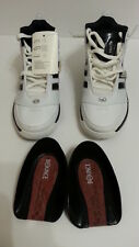Adidas Bounce Artillery II Basketball Shoes white/black size 6 674496 NEW w TAGS