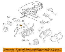 MITSUBISHI OEM 03-06 Outlander Dash Cluster Switch-Bulb & Socket MR444537