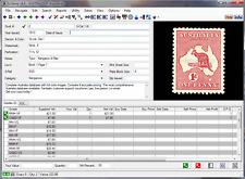 EzStamp AUSTRALIA  2017 Stamp Inventory Software CD Scott Licensed+Images+Values