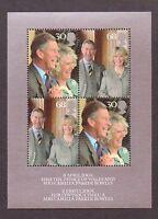 2005 Royal Wedding GB Miniature Sheet, unmounted mint, SG MS2531