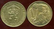 TCHECOSLOVAQUIE  1 koruna  1990   ( bis )