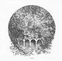 Ansicht  Lausanne HOLZSTICH um 1880 Kathedrale Notre-Dame Genfersee