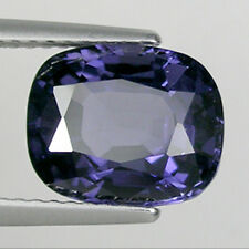 3.56 ct  BEST GRADE LUSTROUS _ PURPLE  BLUE NATURAL SPINEL  _ See Vdo # 2561