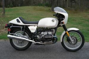 1984 BMW R100RS LAST EDITION ASSESSORY DUAL SEAT & CAFE STYLE FENDER
