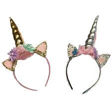 Magical Unicorn Horn Head Party Kid Hair Headband Dress Cosplay Decorative 1pc