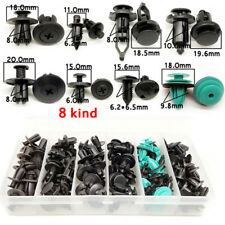 120pc for All Cars Clip trim Car Body Fender Bumper Retainer Fastener Assortment