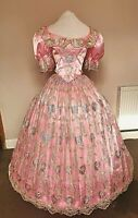Pink Victorian style Ballgown, good for Anna, King & I
