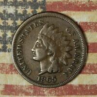 1865 INDIAN HEAD COPPER CENT COLLECTOR COIN FREE SHIPPING