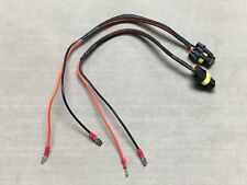 9006 Female to H1 H3 H7 HID LED Connector Extension Wire Harness