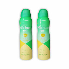 Women Mitchum Dry Spray Antiperspirant & Deodorant Pure Fresh 4oz (2-PACK)