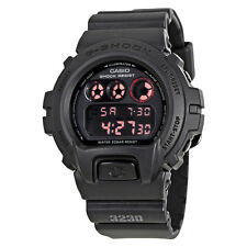 Casio G-Shock G-Force Black Dial Black Resin Strap Mens Watch DW6900MS-1