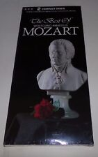 The Best of Wolfgang Amadeus Mozart 2 Cd Set - Brand New Sealed Long Box