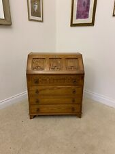 LOCKABLE DESK BUREAU WITH LID 4 DRAWERS WITH KEY