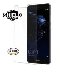 ShieldMyJunk Huawei P10 LITE [2 Pack] HD Premium Tempered Glass Screen Protector