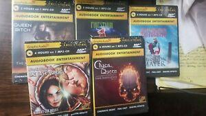 Graphic Audio 5 Fantasy Elemental Chaos Queen Tony Mandolin NEW FREE US Ship