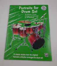 * portraits for drum set Songbook- With Cd Alfred Company