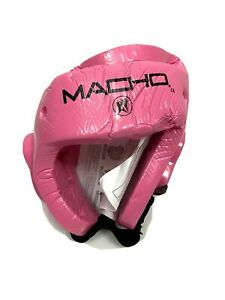 Macho Dyna Protective Sparring Gear Head Gear PINK Medium Womens New MMA Boxing