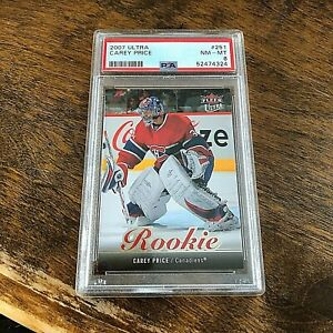 2007 ULTRA CAREY PRICE #251  ROOKIE   PSA 8 nm-mt