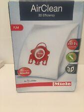 Miele FJM Vacuum Bags - 3D AirClean - 4 HEPA Bags & 2 Filters Per Box