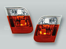 TYC Red/Clear Inner Tail Lights PAIR fits 2002-2005 BMW 3-Series E46 4-DOOR