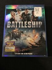 Battleship Blu-ray DVD Liam Neeson , Rihanna , Taylor Kitsch Brand New SEALED