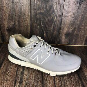 New Balance NBG574 Grey/Silver Men's Golf Shoes Size 11.5