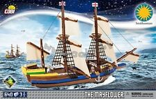 COBI Pilgrim Ship Mayflower / 21077 / 640 elem. bricks Smithsonian boat toy