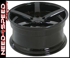 "20"" Rovos Durban Gloss Black 20x8.5 20x10 Concave Wheels Ford Mustang"