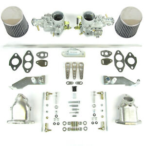 Genuine Weber 34 ICT carb kit  jetted for VW T1 twin port 1641-1776cc T1-ICT1641