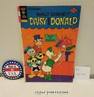 ❤VINTAGE Walt Disney Daisy & Donald Comic #19 Sept,1976 UNIQUE VALENTINE'S GIFT