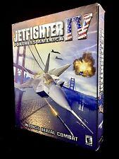 JETFIGHTER IV: Fortress America (PC - 2000) Complete Windows  Game Big Box