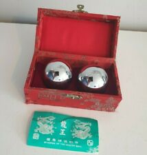 Chinese Health Musical Balls in Box (Red Box)
