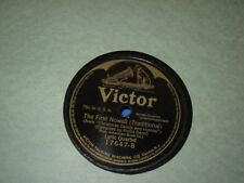 "Lyric Quartet - 78rpm single 10-inch – Victor #17647 ""NAZARETH"" ""THE FIRST NOWEL"