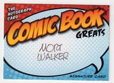 Mort Walker Signed Comic Book Greats Card - Autograph Beetle Bailey Auto