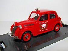 BRUMM 1949-53 FIAT 1100 E BERLINA FIRE CAR 1/43 R181