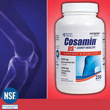 Cosamin DS Joint Health Supplement  230 Capsules Exp 06/2020