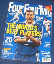 FOURFOURTWO MAGAZINE AUGUST 1999 - THE WORLD'S BEST PLAYERS