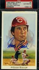 JOHNNY BENCH SIGNED PSA/DNA PEREZ STEELE CELEBRATION AUTHENTIC AUTOGRAPH