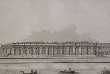 Aquatinte de Janinet /  Durand, Palais Bourbon, Paris