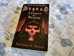 Diablo: Legacy of Blood by Knaak, Richard A. (Paperback)