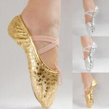 Pro Girl Women Children Ballet Dance Shoes Slippers Pointe Gymnastics Shoes Flat