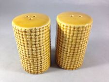 Vintage Corn Cob Salt and Pepper Shakers Home Decor Picnic Grilling