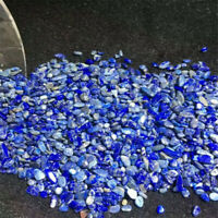 Lapis Ore Crushed Gravel Stone Chunk Lots Degaussing Gemstone crystal