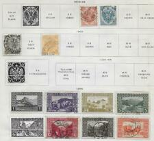 11 Bosnia and Herzegovina Stamps from Quality Old Album 1879-1906