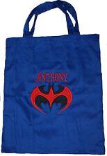 Personalised 2 Handled library bag - Batman