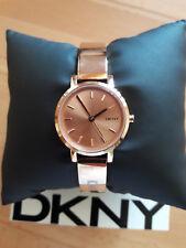 DKNY Damenuhr, original DKNY, *NEU*, Farbe: rosegold